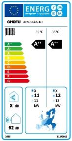 Pompa de caldura CHOFU 16KW